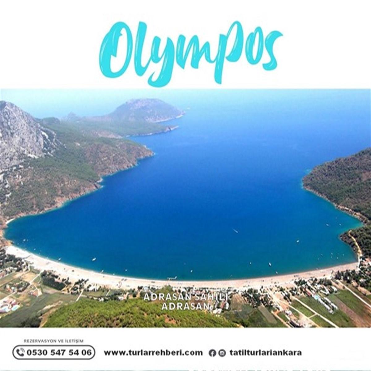 Yaz Boyu Olympos Tatil Turu 3 Gece 4 Gün