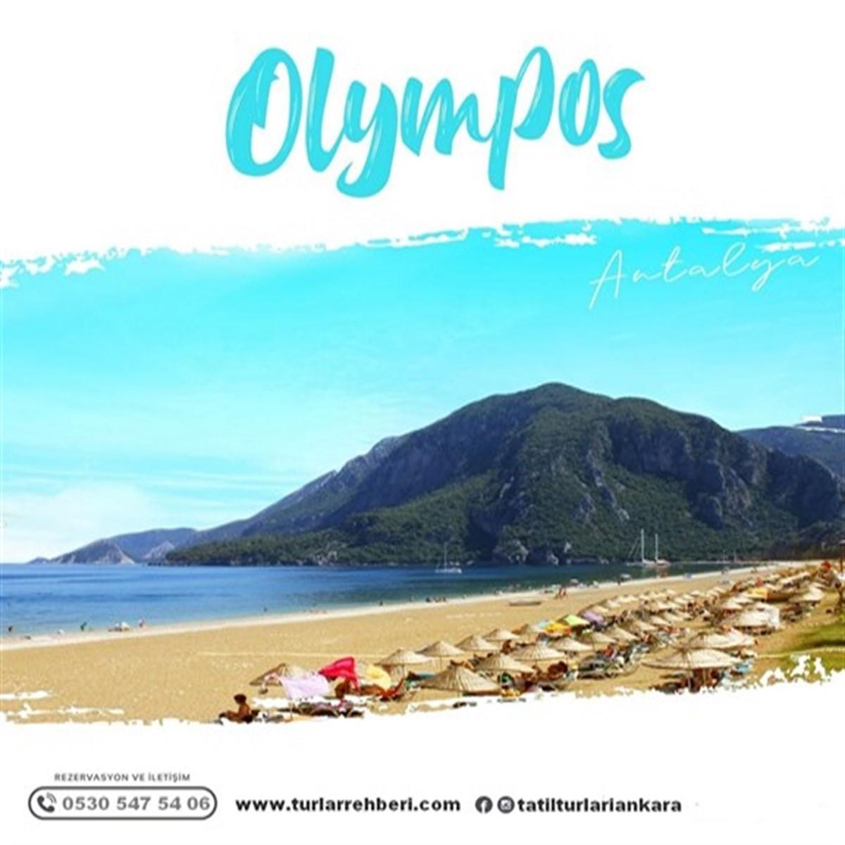 Yaz Boyu Olympos Tatil Turu 4 Gece 5 Gün